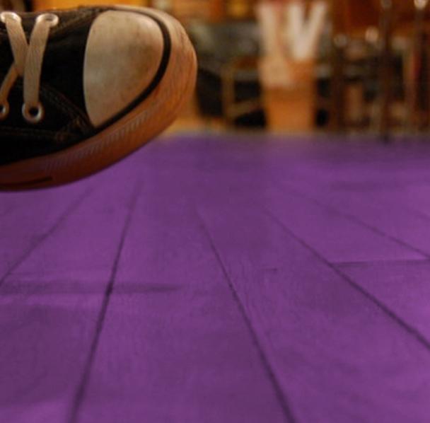 Parquet colorato viola, da Berni store