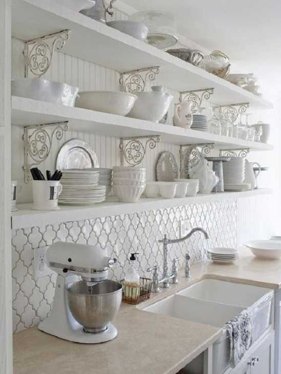 Interni casa: cucina rustrial, da bhg.com