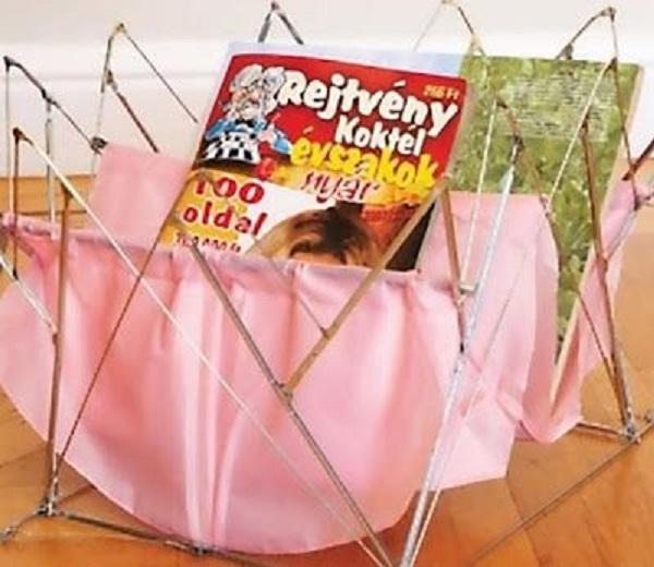 Portariviste con ombrelli rotti, da tipsted.com