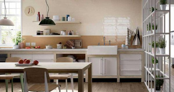 Piastrelle cucina in muratura Mellow di Marazzi
