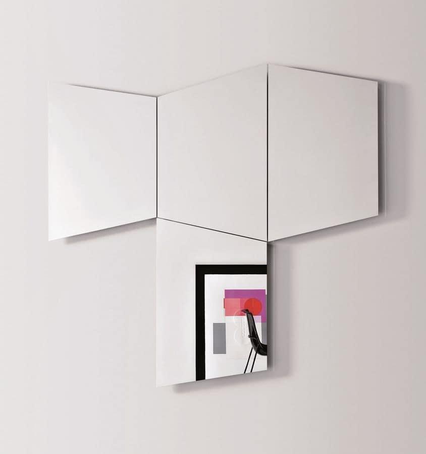 Specchi Da Muro Moderni.Foto Specchi Da Parete Moderni