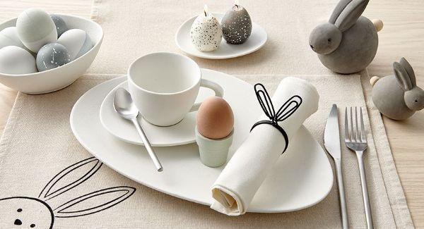 Decorazioni di Pasqua per la tavola di Casa Shops