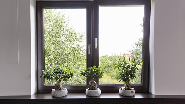 Un corretto montaggio migliora l'estetica delle finestre