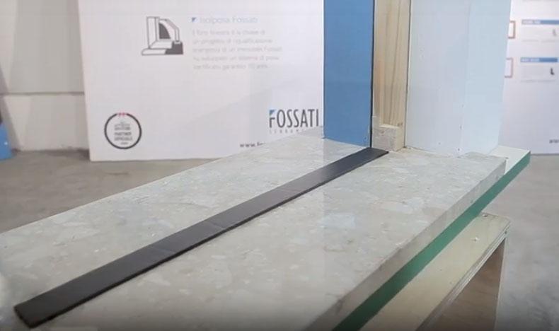 Montaggio di un infisso in sormonto - fase 3, by Fossati Serramenti