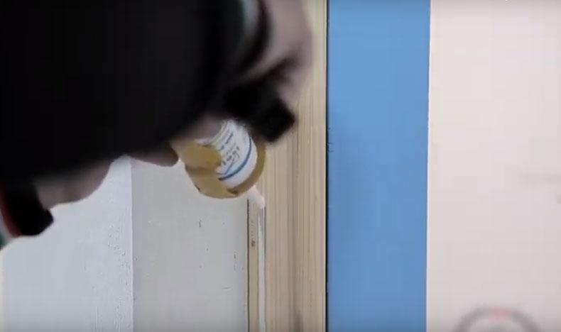 Montaggio di un infisso in sormonto - fase 6, by Fossati Serramenti
