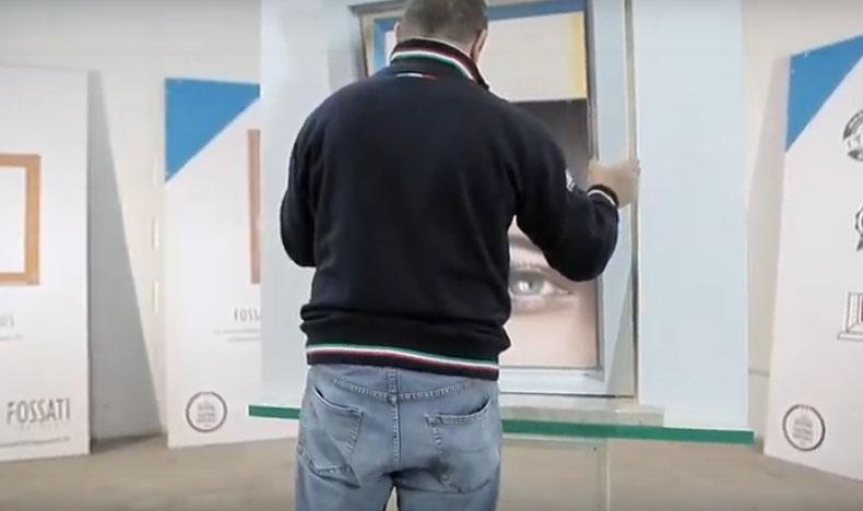 Montaggio di un infisso in sormonto - fase 8, by Fossati Serramenti
