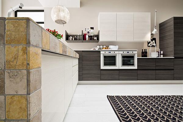 Cucina in muratura moderna - Arrex