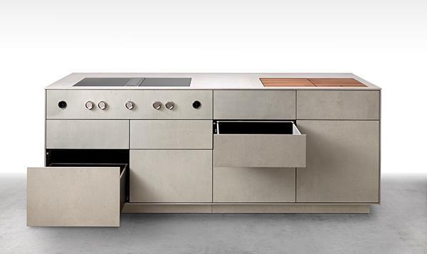 Cucina muratura cemento - Dade MILANO