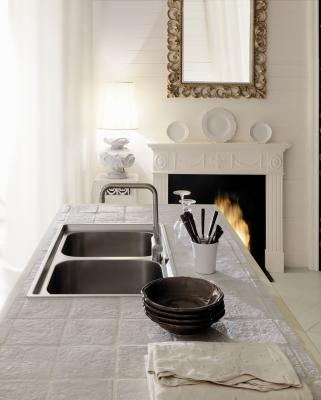 Cucina in muratura moderna