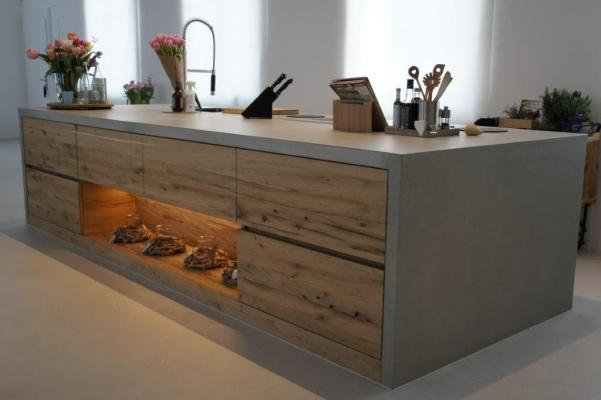 Cucina moderna in cemento - Dade Design