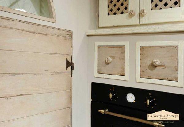 Particolare della cucina in muratura Clea di L'Artigiano Arredamenti