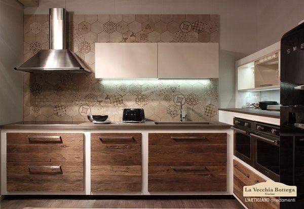 Cucina Mater in muratura di L'Artigiano Arredamenti