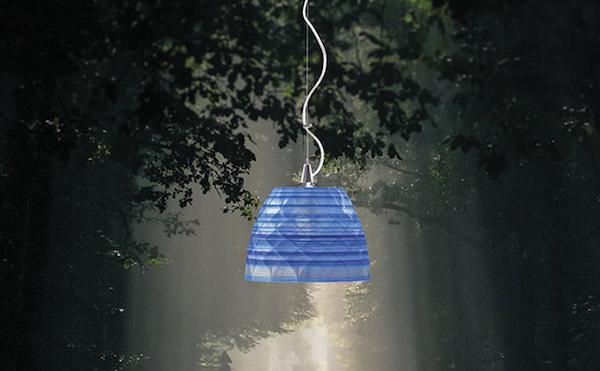 Holy - lampada realizzata con la stampa 3d in materiali ecologici