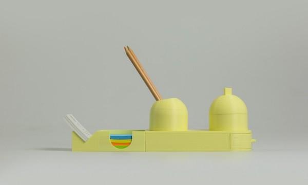 Linea ufficio Vulcano - accessori in stampa 3d by  LuccaPortal