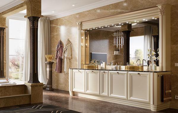 Arredamento bagno luxury by Brummel: collezione EGO LICIA