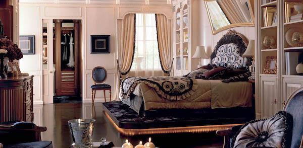 Arredamento luxury by Martini Mobili - camera da letto Opera Parigina