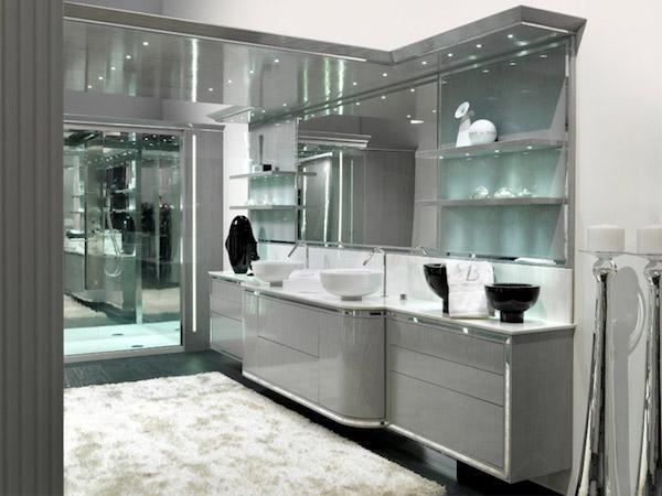 Arredo bagno luxury Brummel: collezione Contemporanea Prestige