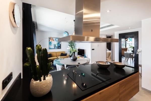 Arredamento luxury per cucina e living