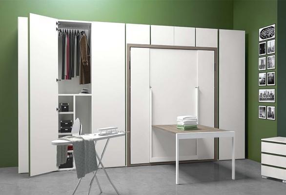 Arredi integrati per monolocali Dynamic Room - Clever