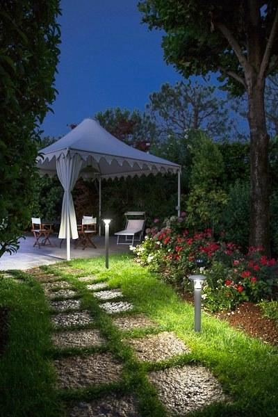 Lampioncini percorso giardino: Cantharellus Goccia Illuminazione