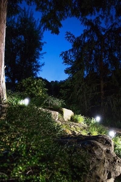 Luci da giardino a terra Clock - Goccia Illuminazione