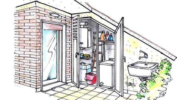 Arredi in alluminio da esterno for Coprilavatrice alluminio