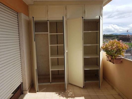 Armadiatura da balcone in alluminio  - S.G. Infissi