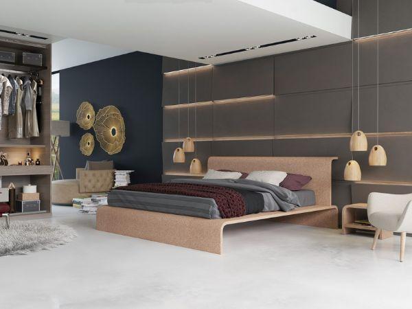 BISU, il letto in sughero di OTQ DESIGN