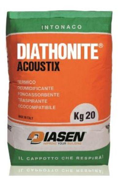 Intonaco a base di sughero Diathonite Acoustix