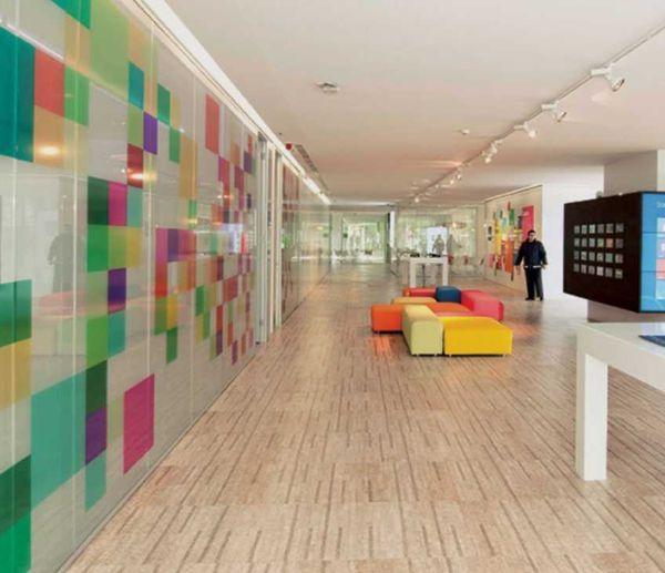 Realizzazione di pavimento in sughero CorkTech a Lisbona