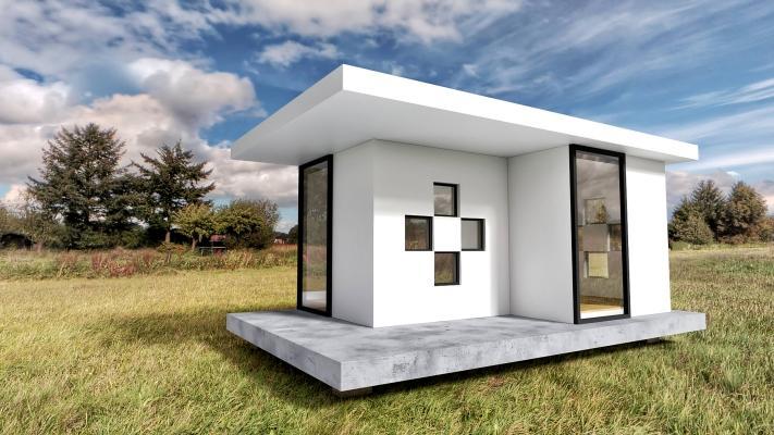 Le tiny houses sono un esempio di case piccole ma di massima efficienza