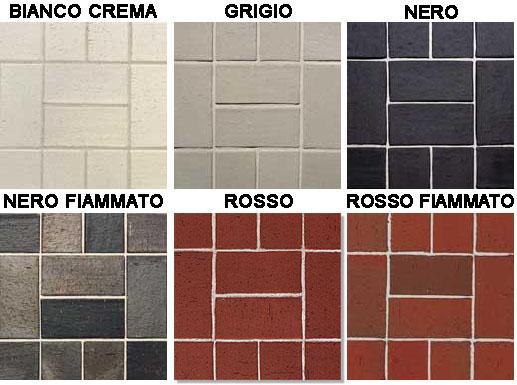 Pavimento Rosso E Bianco : Klinker per pavimenti e rivestimenti esterni