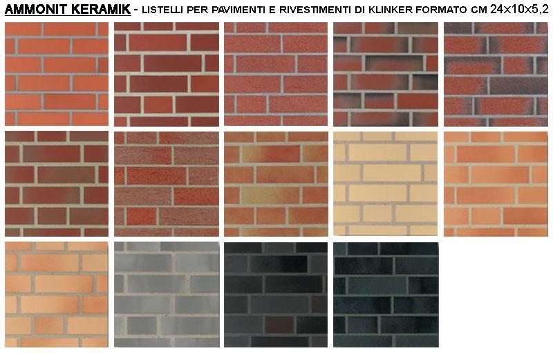 Listelli di klinker per pavimenti e rivestimenti, by Oce