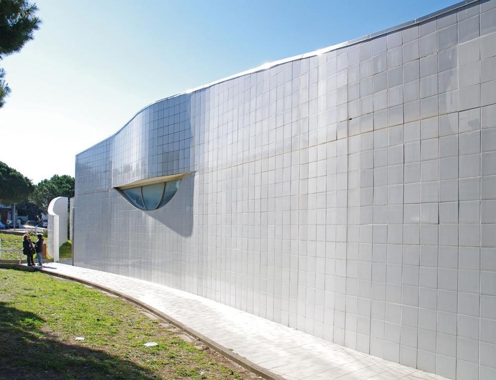 Rivestimento di una facciata esterna in piastrelle di klinker by Agrob Buchtal