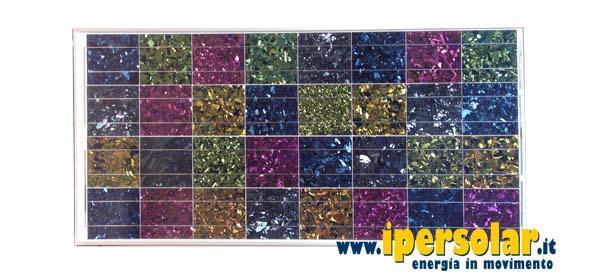 Celle fotovoltaiche colorate di Ipersolar