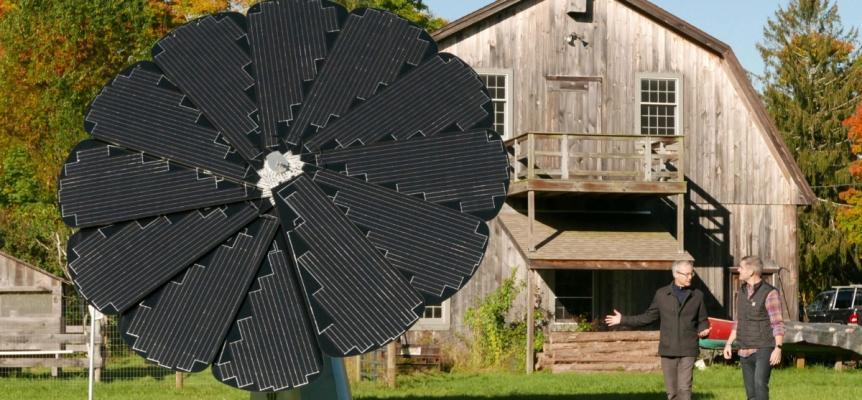 Impianto fotovoltaico high-tech Smartflower
