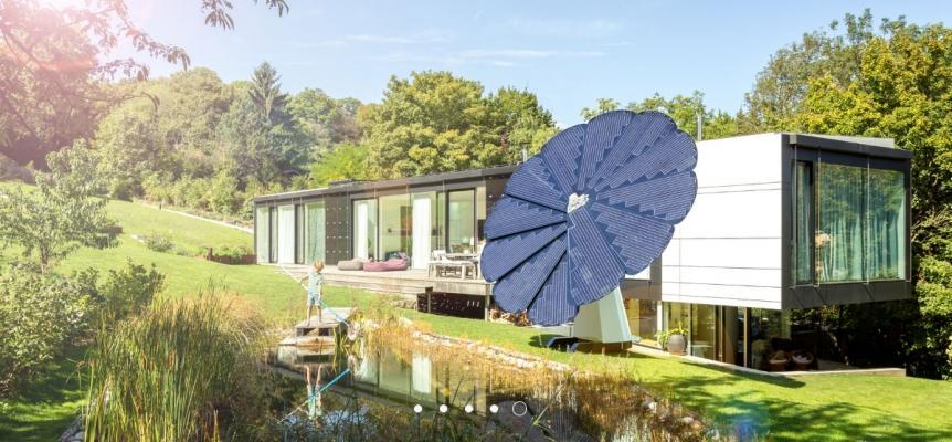 Impianto fotovoltaico intelligente Smartflower