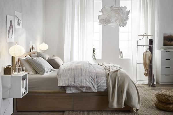 Stanza da letto moderna Ikea