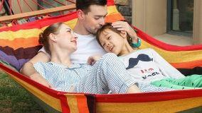 Amaca da giardino e sedute sospese indoor e outdoor per grandi e bambini
