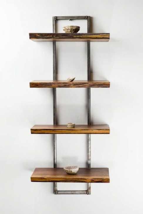 Mensole legno-ferro - Wanos