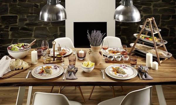 Artesano Provençal Lavanda - set piatti in stile classico by Villeroy&Boch