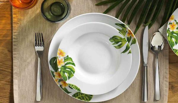 Set da tavola Tropical - design by Tognana