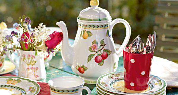 Set piatti da colazione French Garden: lo stile classico rivisitato da Villeroy&Boch