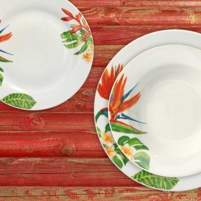 Set piatti in ceramica Alexia, linea Olimpia - Design by Tognana