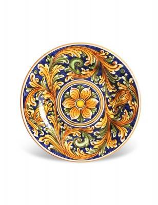 Set Ciuri, design by Maremoro. Piatti in ceramica da dessert.