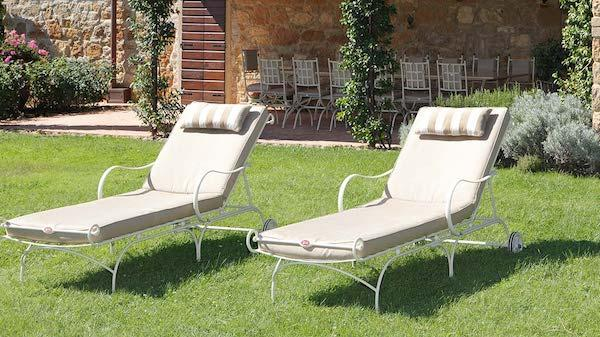 Lettini Sirio - arredi in ferro battuto design by Gaia