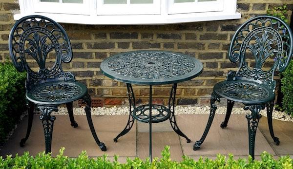 Sedie da giardino in ferro battuto - Stile classico