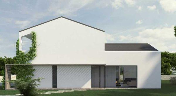 Casa Biocasanatura realizzata con pannelli in X-lam