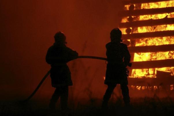 Le case in legno hanno una buona resistenza al fuoco