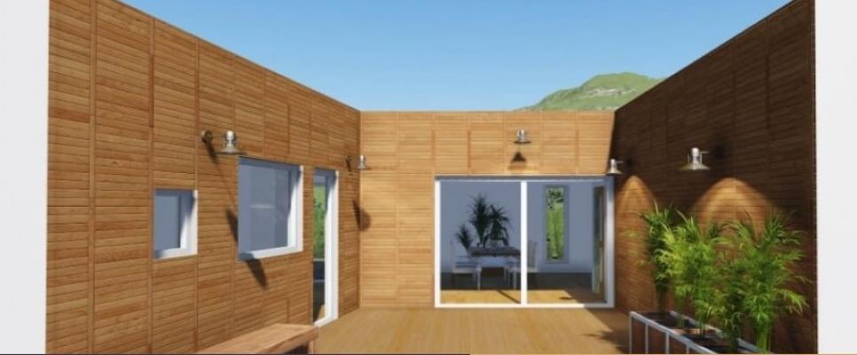 Case prefabbricate in legno progetto france 200